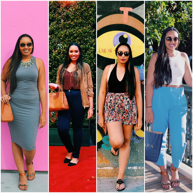 #NubianaTakesLA: Outfit Round-up