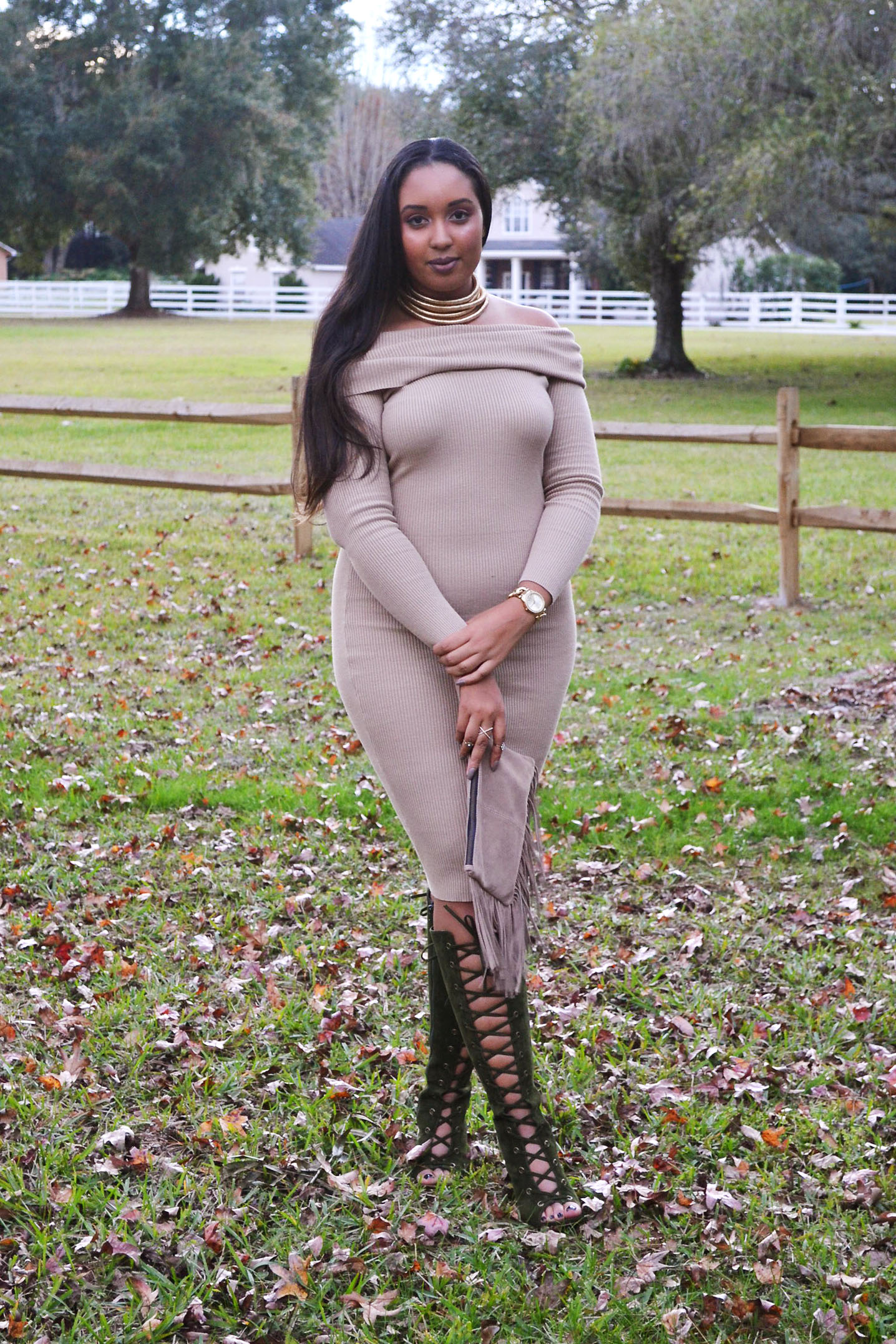 The Sweater Dress