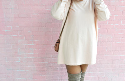 OOTD: The Sweatshirt Dress