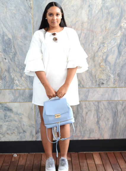 How to Wear Frill Sleeves in the Spring