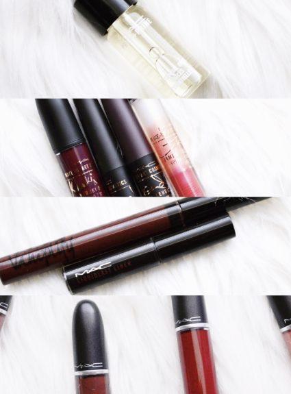 MAC Cosmetics Winter Releases (MAC Kiesza, Prep + Prime Essential Oils, Retro Matte Liquid Lipcolour, and Make-up Art Cosmetics)