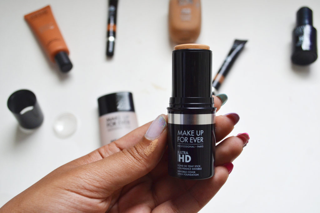 Make Up For Ever ULTRA HD stick foundation, concealers