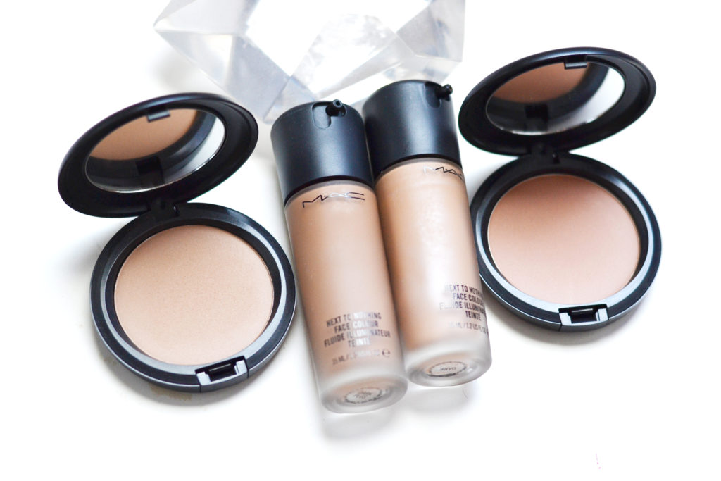 MAC Next To Nothing Face Colour and Pressed Powder