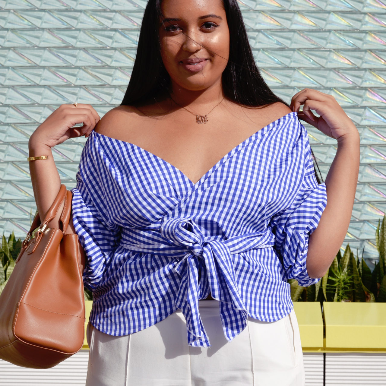 #OOTD: Gingham Is The New Black
