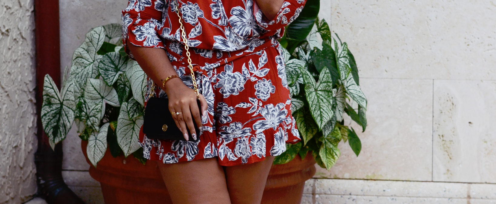 Another Day, Another Romper (featuring Mulberry & Grand jewelry)
