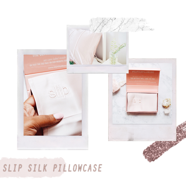3 reasons why you should invest in a silk pillowcase ft. SLIP Silk Pillowcase