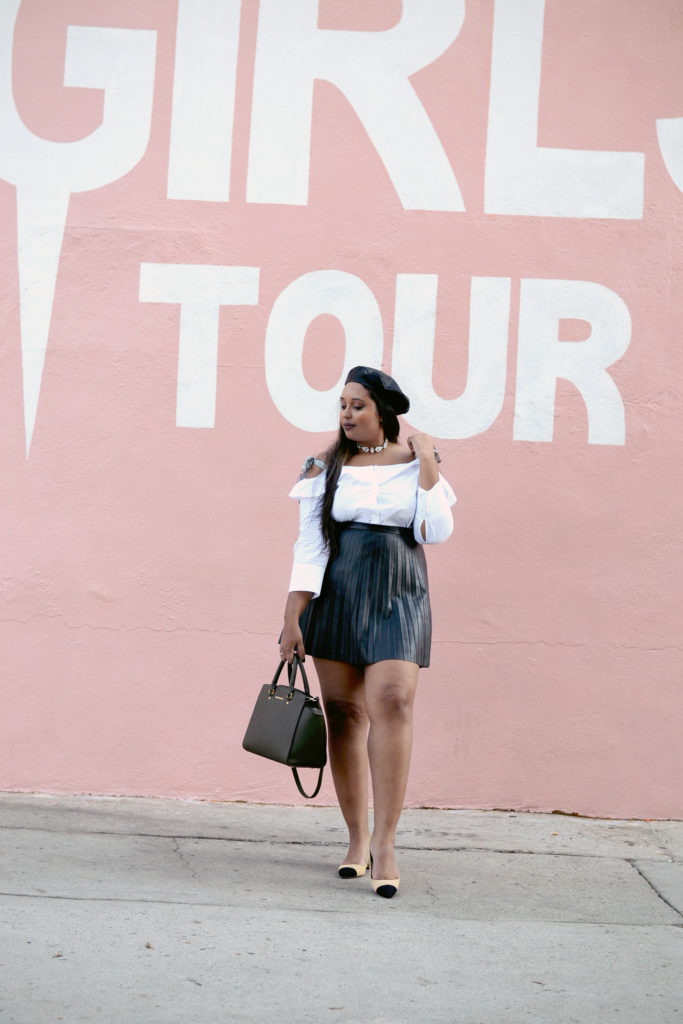 Most Instagrammable Spots in Los Angeles: Sorella Boutique/GIRLS TOUR mural