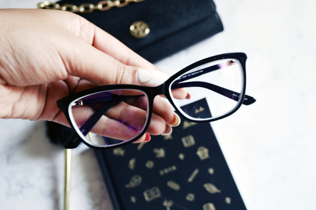Rachel glasses with standard blue light protection from Phonetic Eyewear