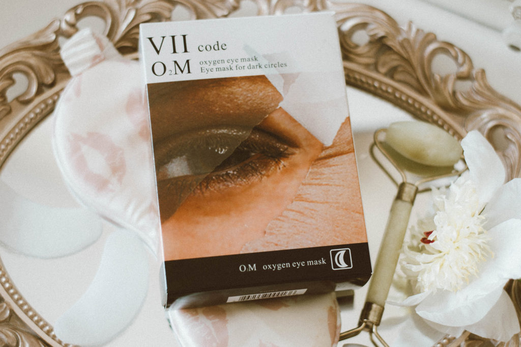 VIIcode O2M Oxygen Eye Mask for Dark Circles Review