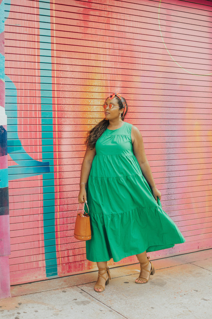 Miami Swim Week lookbook // Who What Wear for Target Women's Tiered Maxi Dress