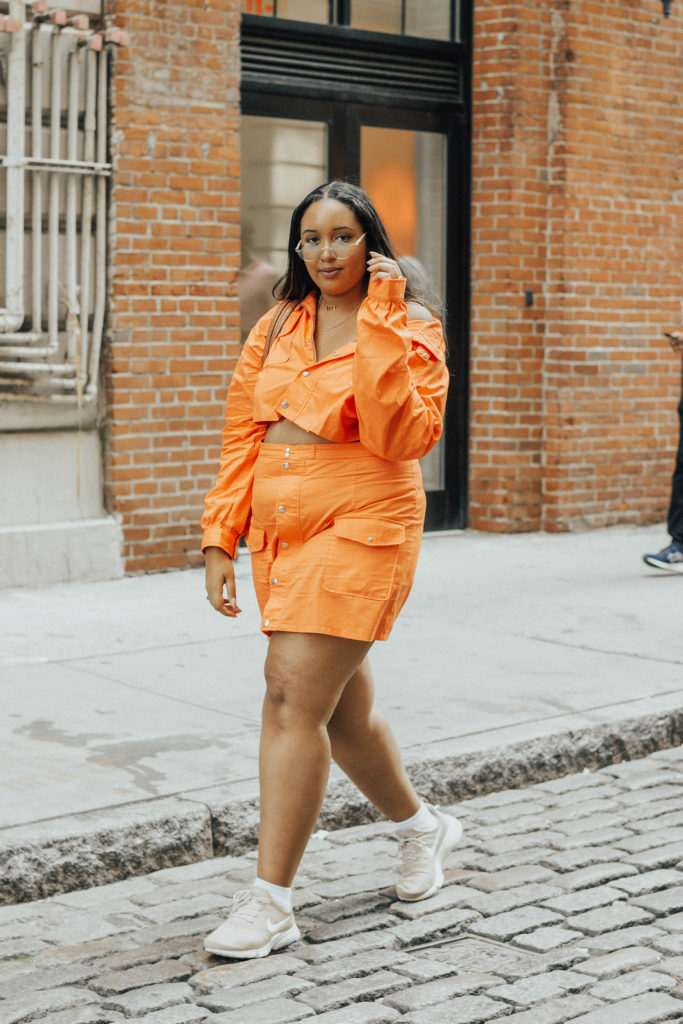 Pretty Little Thing x MAYA JAMA Orange Co-Ord
