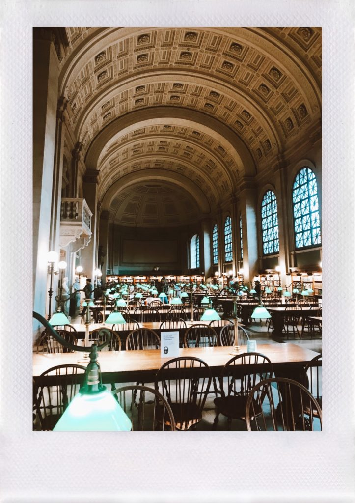 What to do in 72 hours in Boston, MA: Boston Public Library