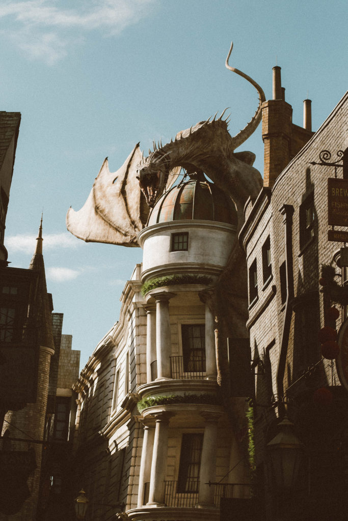Christmas in Wizarding World of Harry Potter - Diagon Alley