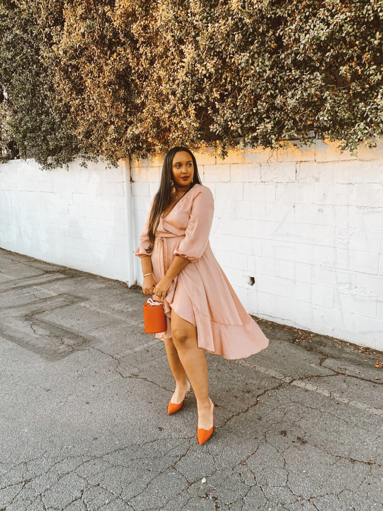 Gal Meets Glam Jennifer Wrap Dress | Valentine's Day Outfits