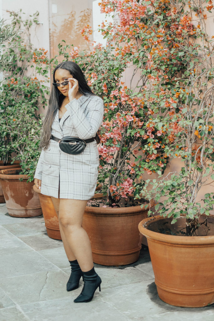 Trend Report: Plaid Blazer Dress