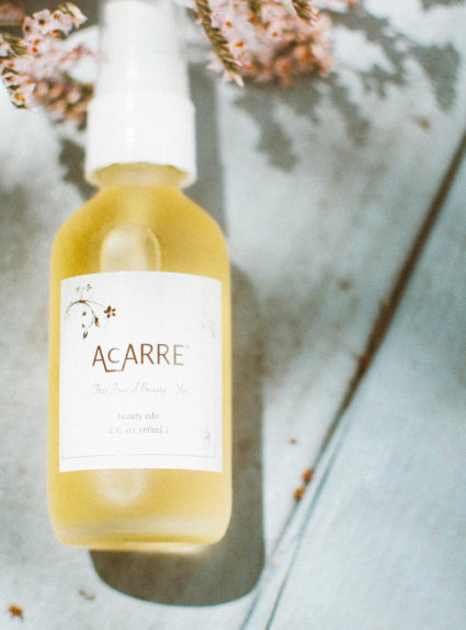 AcARRE's Beauty Edit Multi Use Skin Care Oil Review