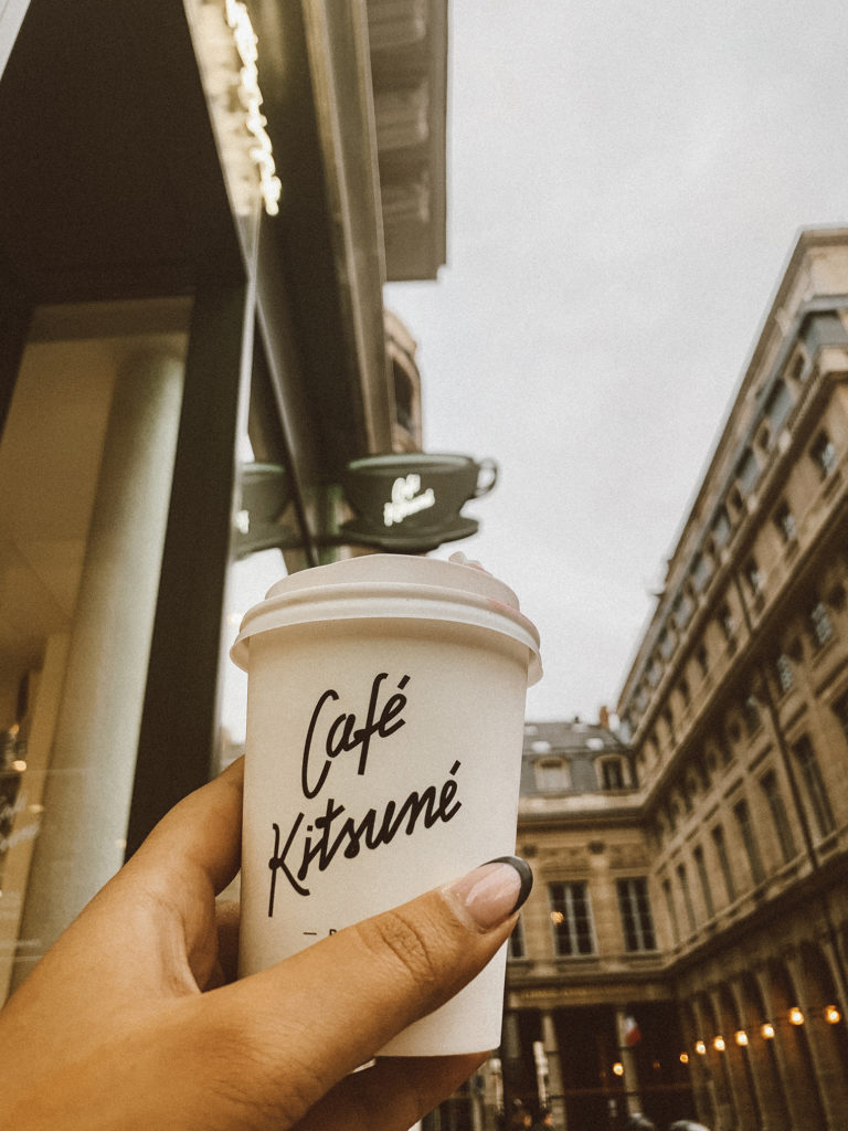 Café Kitsune - Paris day trip itinerary | www.fromnubiana.com