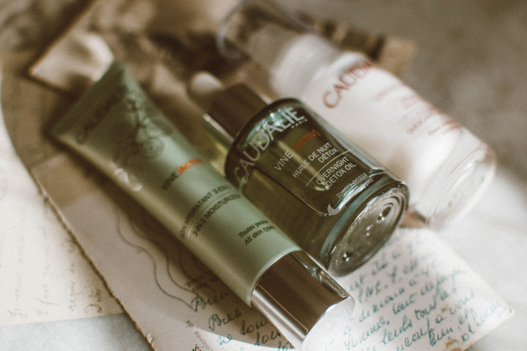 Caudalie Skincare Review - Vine[Activ] Overnight Detox Oil