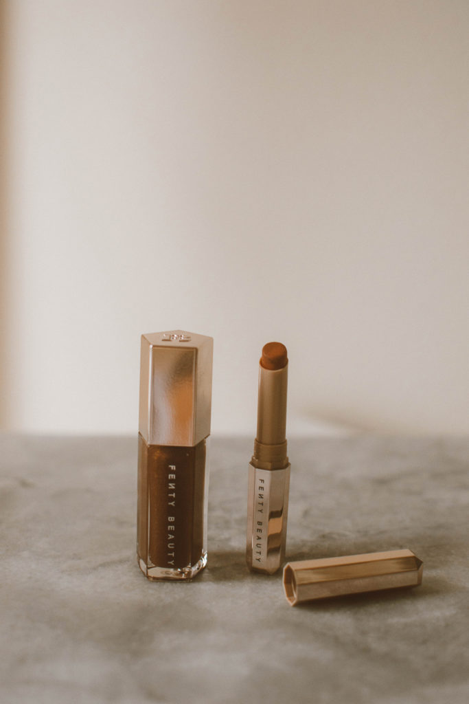 Beauty Haul: Fenty Beauty Gloss Bomb in Hot Chocolit and Mattemoiselle Plush Lipstick in S1ngle