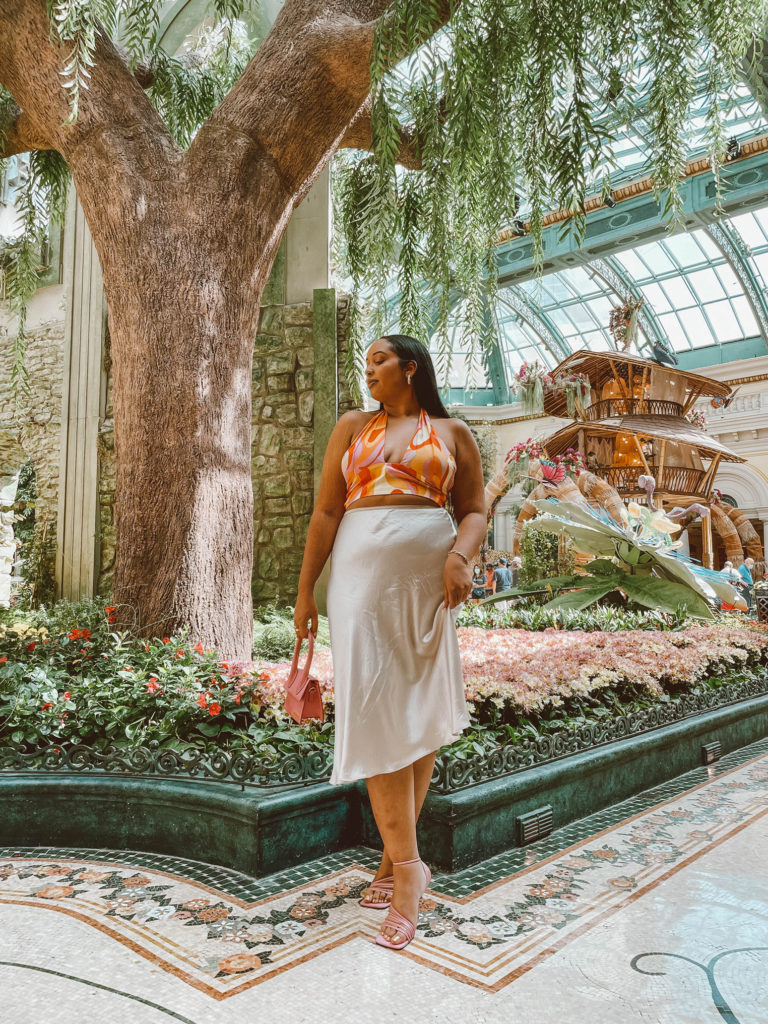 What to do in Las Vegas - Bellagio Conservatory & Botanical Garden